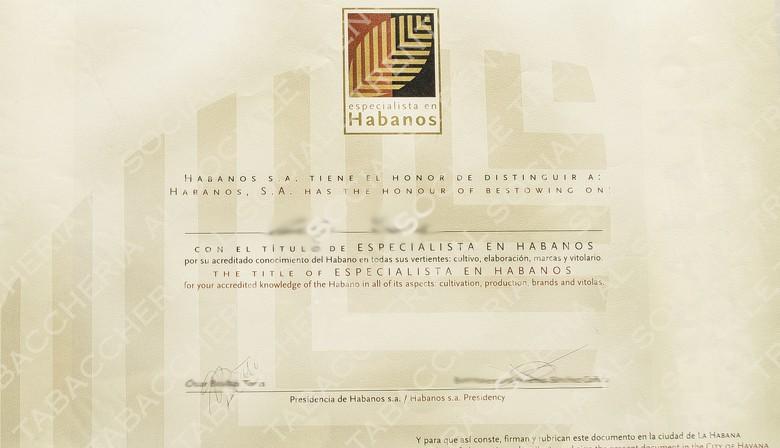 Personale tabaccheria certificato