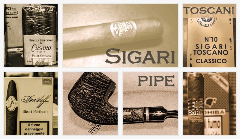Sigari, toscani, sigari toscani, pipe ed articoli per fumatori